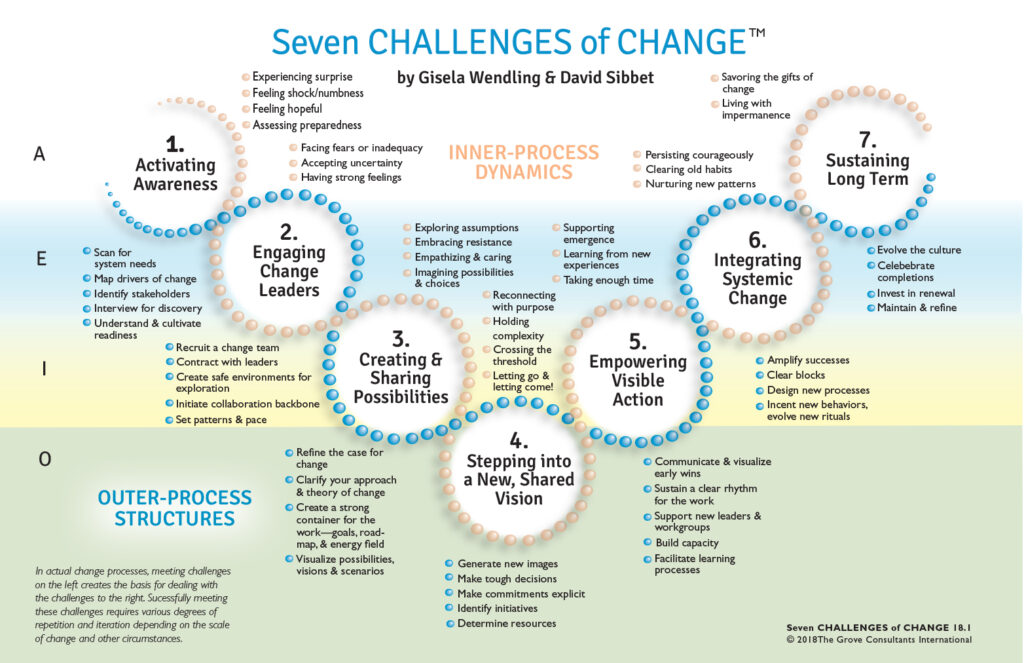 Seven Challenges of Change